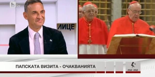 Стефан Тафров за посещението на папа Франциск: Посрещаме един голям духовен лидер
