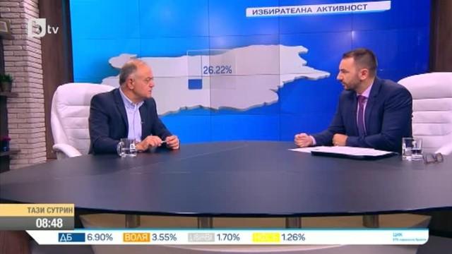 Атанасов: Ниската избирателна активност е резултат на отлива на гласове за ГЕРБ