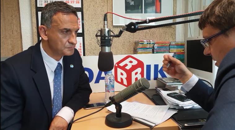 Стефан Тафров с участие в предаването Седмицата по Дарик Радио
