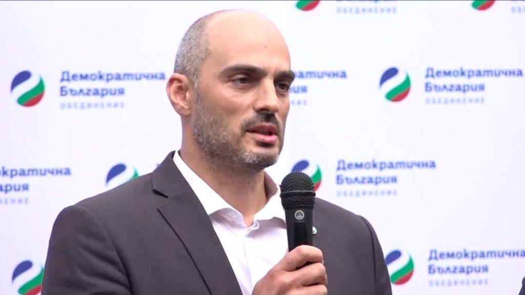 Представяне на кандидата на Демократична България за кмет на София