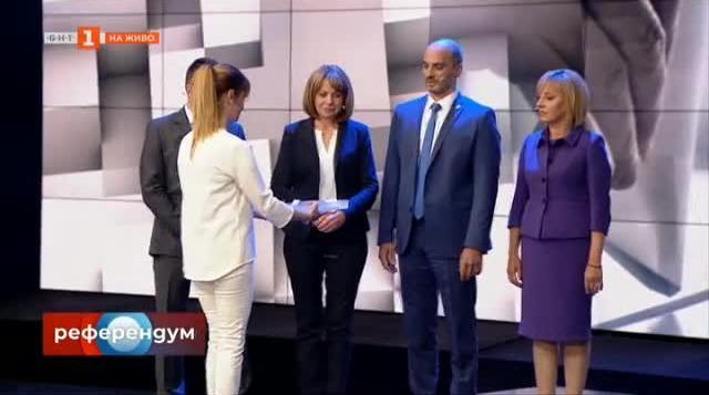 """Големият дебат за София в """"Референдум"""" по БНТ"""