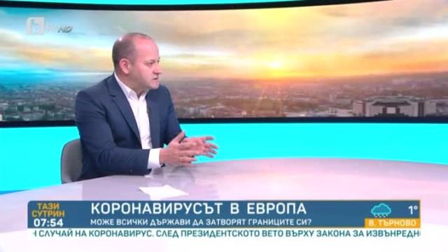 Радан Кънев: Трябва да се предприемат бързи мерки в подкрепа на малкия и средния бизнес
