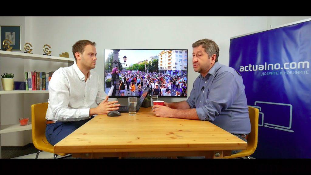 Христо Иванов: Време е хора с характер да поемат държавата