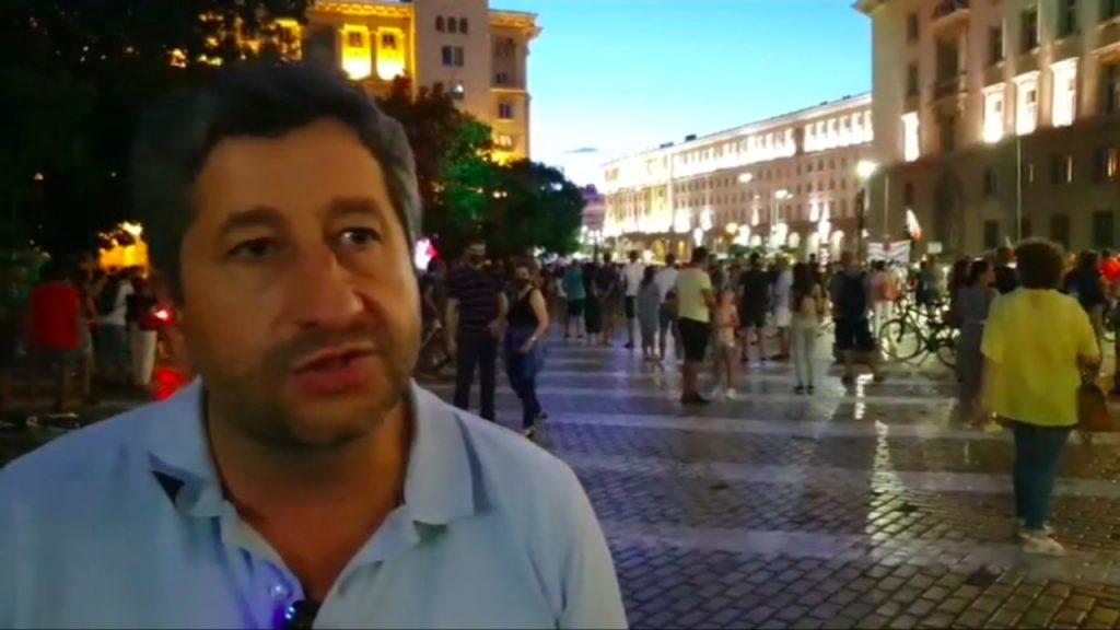 Христо Иванов на живо от Орлов мост (10 август 2020)