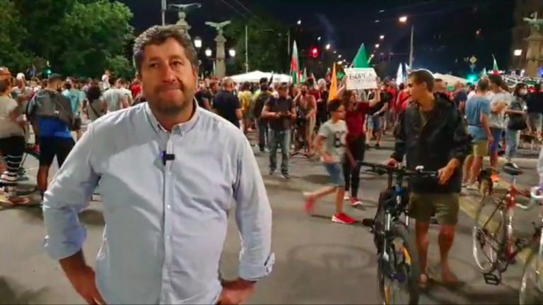 Христо Иванов на живо от Орлов мост (9 август 2020)