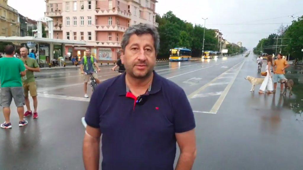 Христо Иванов на живо от Орлов мост (8 август 2020)