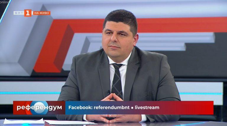 """Ивайло Мирчев в """"Референдум"""": Искаме мандат за радикална модернизация на България"""