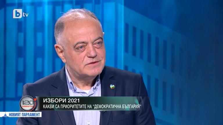 Атанас Атанасов пред bTV: Демократична България е сигурен участник в следващия парламент