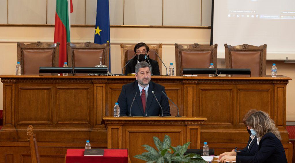 Демократична България внесе в Народното събрание първите си законодателни инициативи