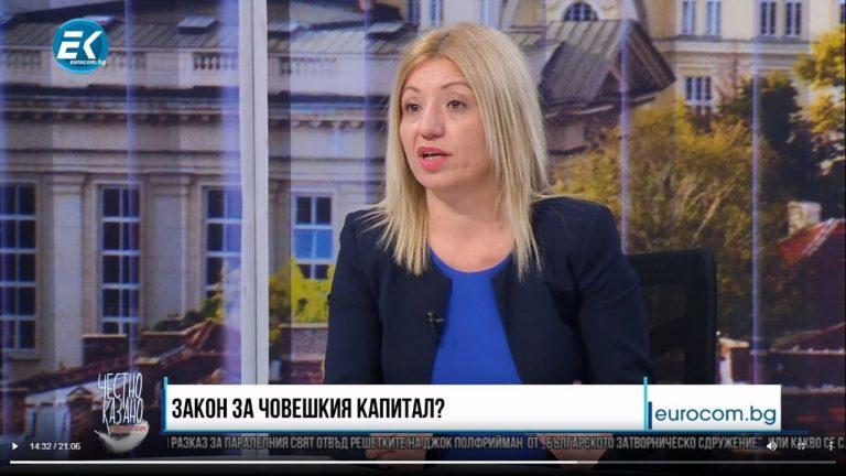 """Цецка Бачкова в """"Честно казано с Люба Кулезич"""""""