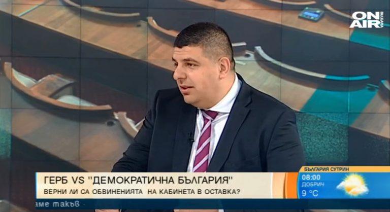 Ивайло Мирчев пред Bulgaria On Air: ГЕРБ ни атакува, защото вижда в нас единствения си сериозен противник