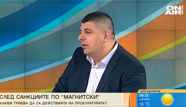 Ивайло Мирчев пред Bulgaria ON AIR