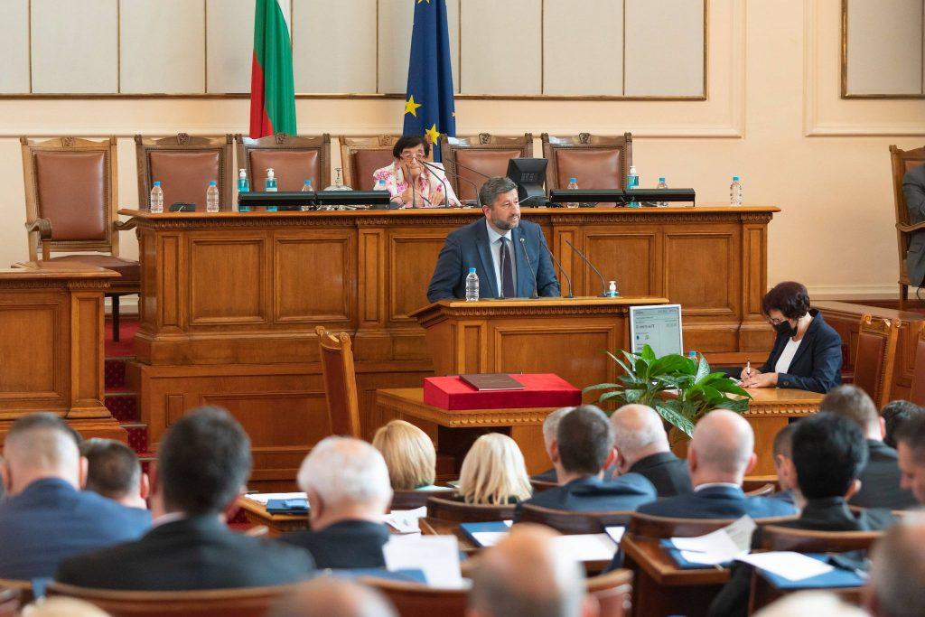 """""""Демократична България"""" предложи 3 приоритета и диалог за конституционни промени при откриването на парламента"""