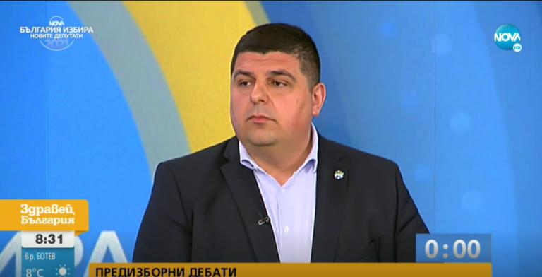 Ивайло Мирчев в дебат по NOVA