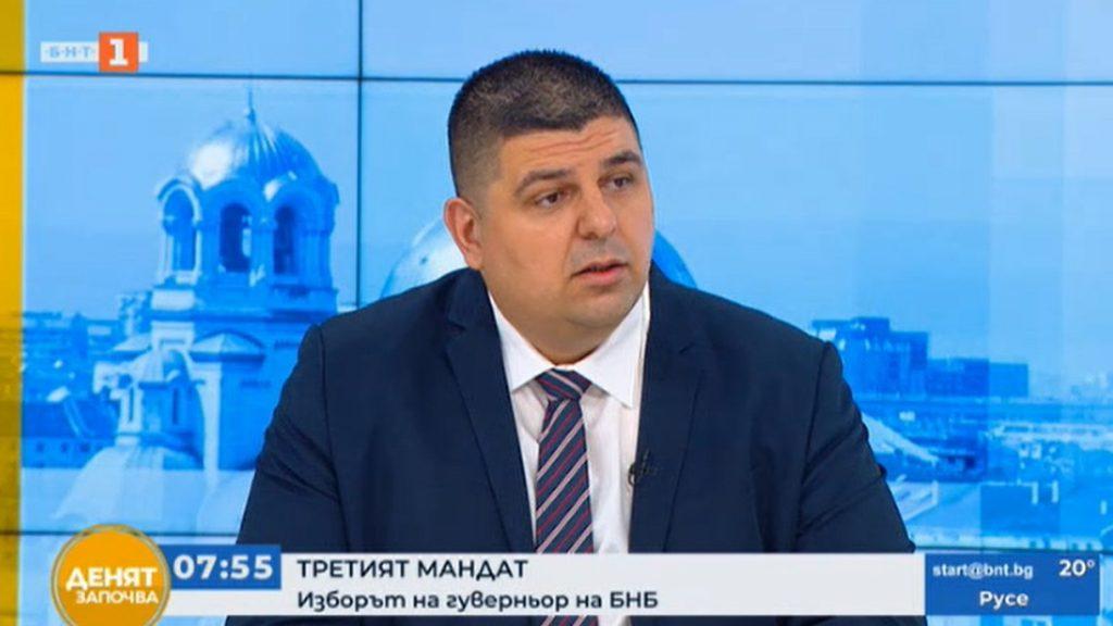 Ивайло Мирчев: Парламентът първо да излъчи управление, после да сменя управителя на БНБ
