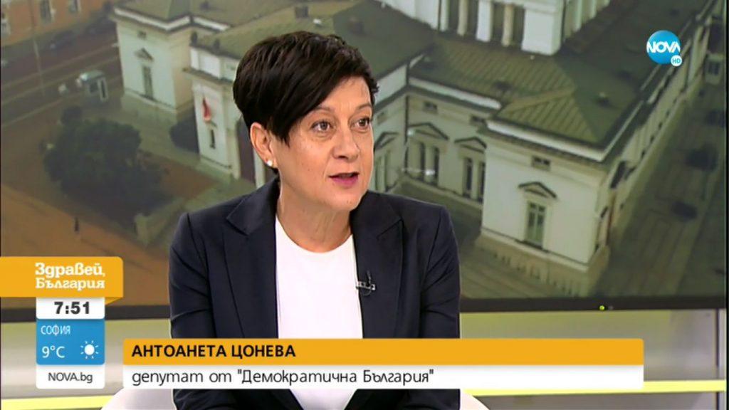 Антоанета Цонева: Чатовете са образ на зависимостта на ГЕРБ от главния прокурор
