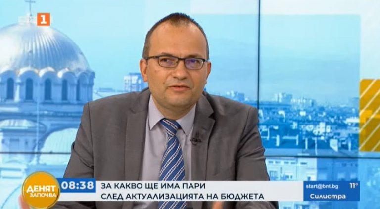 Мартин Димитров пред БНТ