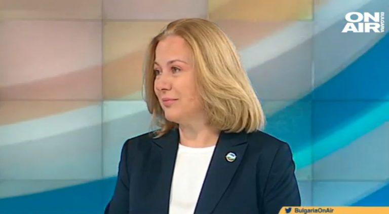Надежда Йорданова пред България On Air